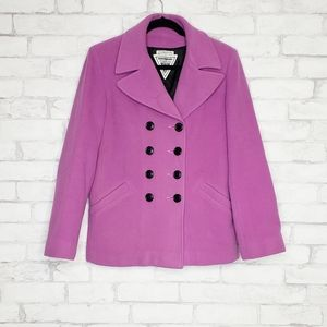 Marvin Richards Purple Coat Size Medium